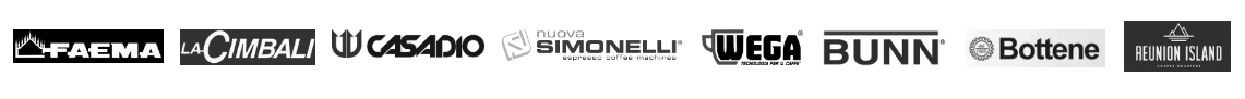 Troisi Imports Coffee & Espresso Machines Brands we sell